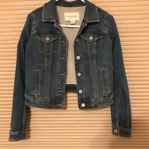 Denim Jacket by Pilcro and the Letterpress